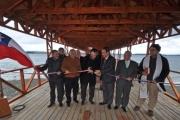 Intendente y Alcalde de Calbuco inauguran Muelle de Paseo